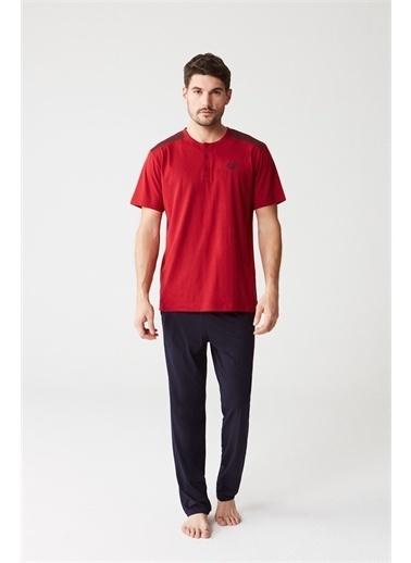 Mod Collection Pijama Takım Bordo
